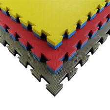 Materassine Tatami in EVA misura 100x100cm spessore 4cm incastro reversibile