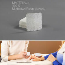 100pcs/bag Cotton Lint-Free Nail Wipes Napkins Gel Polish Remove Pure Nails