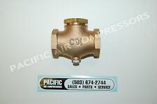 Brass Inline Check Valve For Air Compressor 1/4'' Fpt