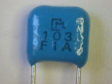 0.01uF 1% 100V C0G/NPO Radial Ceramic Caps - 10 pc lots