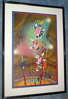 Warner Brothers Cel Tweedy Sylvester Bugs Acrobats Signed Friz Freleng Cell
