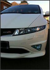 Honda Civic Fog light covers fog light protectors FN2/FK3 etc LIGHT BLUE TINT