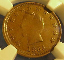 1864 Abraham Lincoln OUR UNION Campaign Token LOVELY