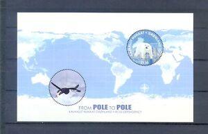 2014GREENLAND - SG MS752 - POLE TO POLE - JOINT ISSUE - UMM - POLAR BEAR/PENGUIN