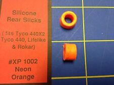 Silicone Tires Neon Orange fit Tyco 440 440x2 Lifelike HXP 1002 Mid-America