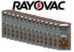 Rayovac Extra Advanced 312 PR41 ZL3 Hörgerätebatterien 6 12 24 30 60 120 x Stück