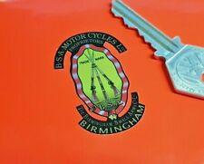 """BSA Piled Arms Motorcycle Logo Sticker 2"""" Pair Bike Motorbike Tank Rifles Helmet"""