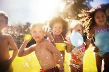 100 Coloured Splash Water Bombs Balloon Shooter Garden Beach Pool Summer Party