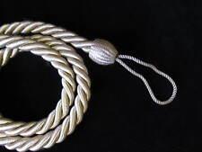 2 Corde embrasses de rideaux - Beige - mince Slinky cordon Retenues