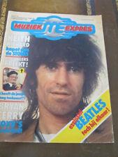 Muziek Express June 1976 Rolling Stones Roxy Music Beatles Dutch magazine