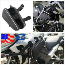 Saddle Storage Bag Frame Guard Mount Small Tool Pouch For BMW R1200GS F800GS 1x