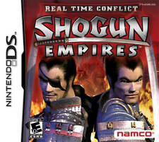 Real Time CoNFLict: Shogun Empires NDS New Nintendo DS