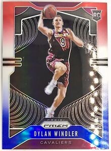 2019-20 Panini Dylan Windler Silver Prizm Rookie Card RC red white blue 🔥📈