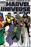 Official Handbook Of The Marvel Universe Comic Issue 6 Update 1989 Copper Age