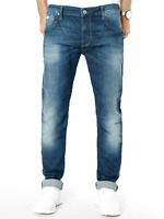 MAVI Herren Slim Fit Used Look Jeans Hose   Yves   W36 & W38  L34