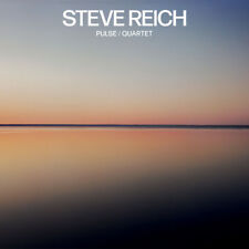 Steve Reich : Steve Reich: Pulse/Quartet CD (2018) ***NEW***