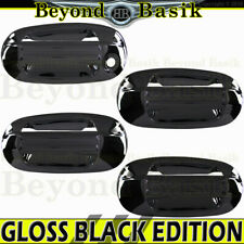 2003-2017 Ford Expedition Lincoln Navigator GLOSS BLACK Door Handle Covers W/oPK
