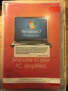 Windows 7 Professional 64 bit Software CD Windows Anytime Upgrade No Product key