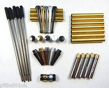 Woodturning Fancy Slimline Mixed Pen Kit Sets x 5 - Set No: 3