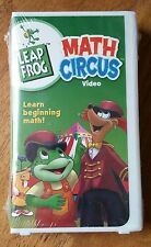 Leap Frog Math Circus VHS - Brand New