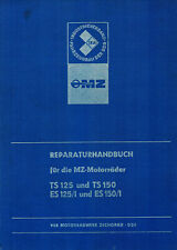 Reparaturhandbuch MZ-Motorräder TS 125 150 ES 125/1 150/1 🔧 Reparaturanleitung