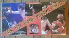 New Sealed Vintage VCR Top Rank Boxing Game Video Cassette Games Inc. La Motta