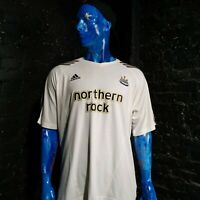 Newcastle United The Magpies Training Jersey Adidas 504375 White Mens Size XL