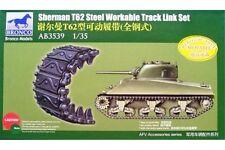 BRONCO AB3539 1/35 Sherman T62 Steel Workable Track Link Set