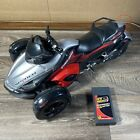 New Bright CAN-AM Spyder Radio Control Car R/C Vehicle Missing Remote & Rider