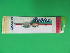 Vintage Rublex VOBLEX Fishing spinner Lure, color Silver