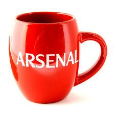 ARSENAL FC GUNNERS TEA TUB CERAMIC TEA COFFEE MUG CUP IN GIFT BOX NEW XMAS