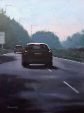 "Original painting direct from Steve Sanderson ""September roads..."" Northern art"