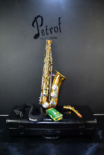 Vintage Rare TOP Alt /Alto Saxophone B&S Blue Label+Mouthpiece&Hard Case~Germany