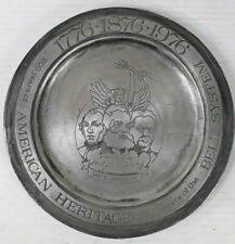 Vintage 1976 200 Years American Heritage 100 Years Bell Telephone Brass Plate