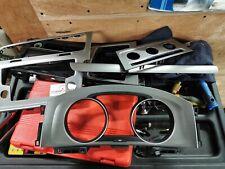 2015 VW Golf Mk7  1.6 tdi  INTERIOR DASH TRIM RADIO  HEATER SURROUND KIT