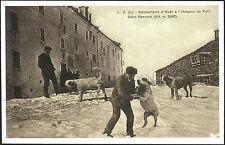 CARTOLINA - OSPIZIO DEL PICCOLO SAN BERNARDO - Alt. m. 2158 - FRANCIA 1906