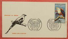 1960 FDC SENEGAL 500FR FISH EAGLE AIRMAIL #C30