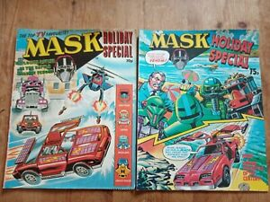 2 X MASK HOLIDAY SPECIAL 1987 & 1988.G/VGC