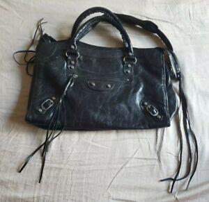 Balenciaga Paris handbag Black