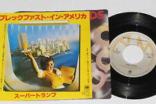 "SUPERTRAMP -Breakfast In America / Lord Is It Mine- 7"" 45 Japan Pressung"