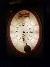 1971 budweiser lighted clock