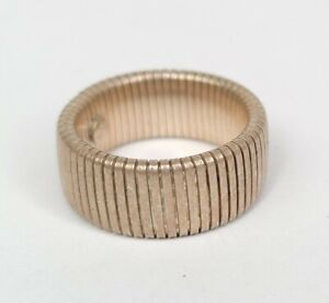 Unique Vintage Sterling Silver 925 Stretch Ring Band
