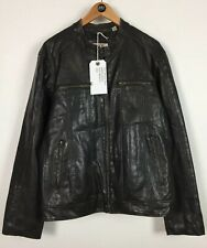 Mens Levis Faux Leather Jacket / Large / Biker / Polyvinyl / Casual / Red Tab