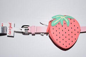 Cat & Jack Girls M/L Pink Strawberry Fanny Pack Belt NWT