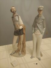 Two Lladro Figurines: Nao 305 Don Quixote and Sea Captain Pipe 462