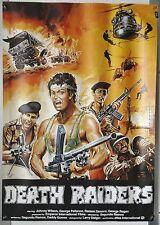 (A29) Gerollt/Filmplakat DEATH RAIDERS 1984 Johnny Wilson