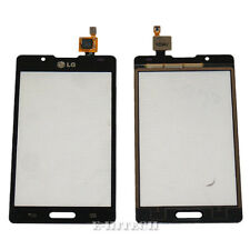 LG P710 Optimus 2 L7 Black Digitizer Touch Screen Lens Glass Replacement + tools