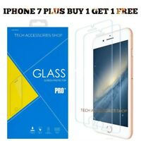 Glass Screen Protector For Apple iPhone 7 Plus - 100% Genuine Tempered