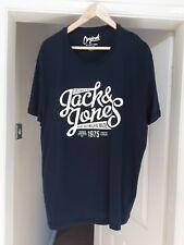 Originales por Jack Jones Camiseta XXL para hombre de un hogar limpio libre de humo y mascotas