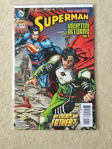 Superman #25 - New 52 - 2011 - DC Comics - english - 1st print